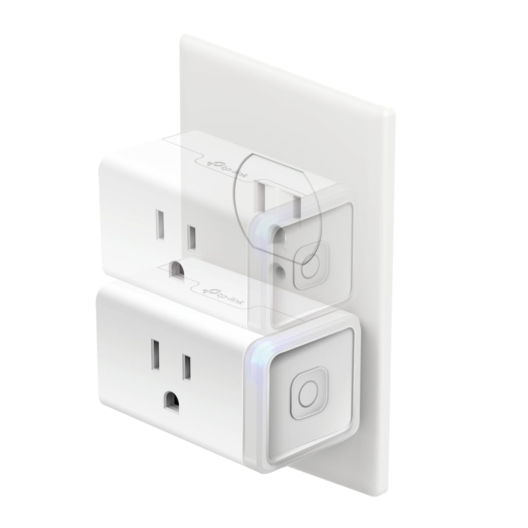 Kasa Smart Wi-Fi Plug Mini (2-Pack)