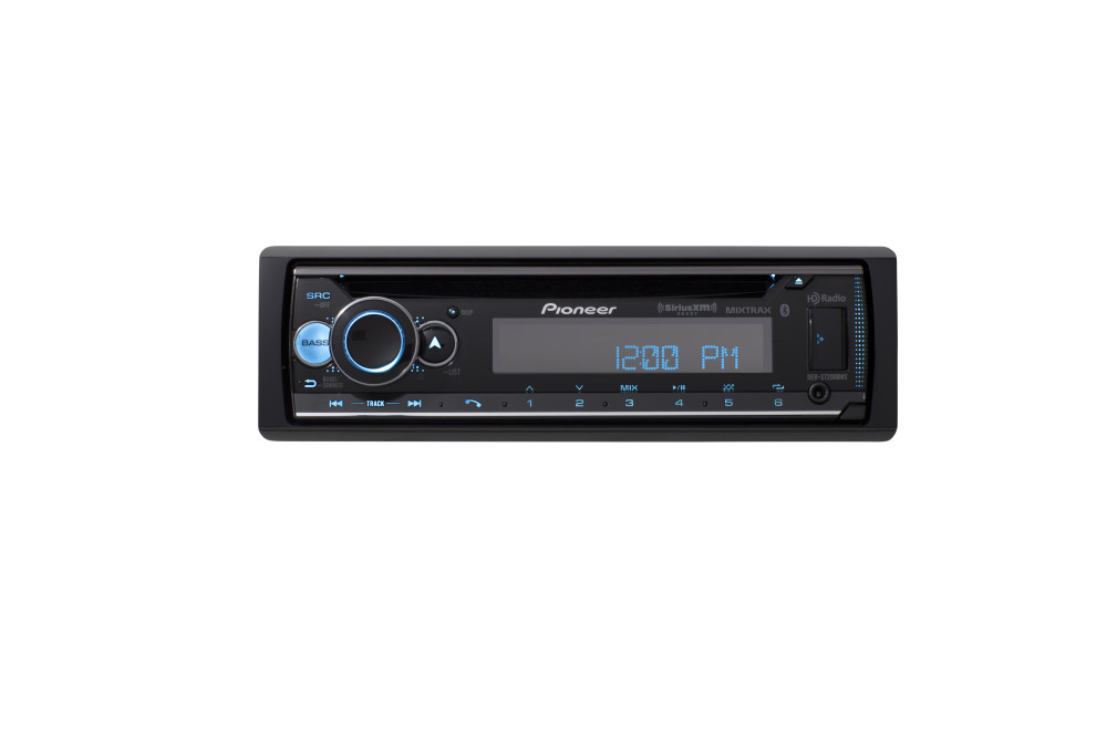 Pioneer DEH-S7200BHS CD Receiver, Enhanced Audio Functions, Built-in Bluetooth