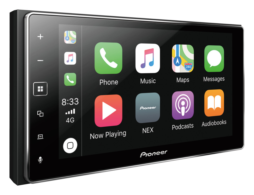 "Pioneer MVH-1400NEX Digital Multimedia Video Receiver with 6.2"" Touchscreen Display"