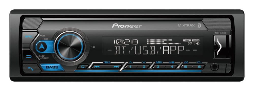 Pioneer MVH-S320BT Digital Media Receiver with Built-in Bluetooth